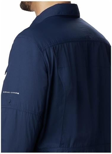 Columbia Columbia AO0651 Silver Ridge 2.0 Long Sleeve Shirt Gömlek Mavi